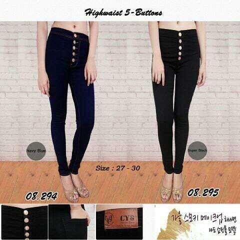 """""""""""HW jeans kancing CYG 08294 Material: soft jeans Harga: 135 Warna: hitam Order PIN CS1-5A1F32FA PIN CS2-5FI5DE72 & SMS/WA 087722-575-101  Reseller & Dropship Welcome!  Happy Shopping! :) #jamtangan #jamtanganwanita #jammurah #grosirjam #sweatercouple #flatshoes #jamtanganterbaru #resellerjamtangan #taswanita #sneakerscwe #celanajeansripped #jamtanganartis #olshop #wedgesterbaru #jaketjeans  #resellerwelcome #celanajeans #sepatubandung #celanajeanshw"""