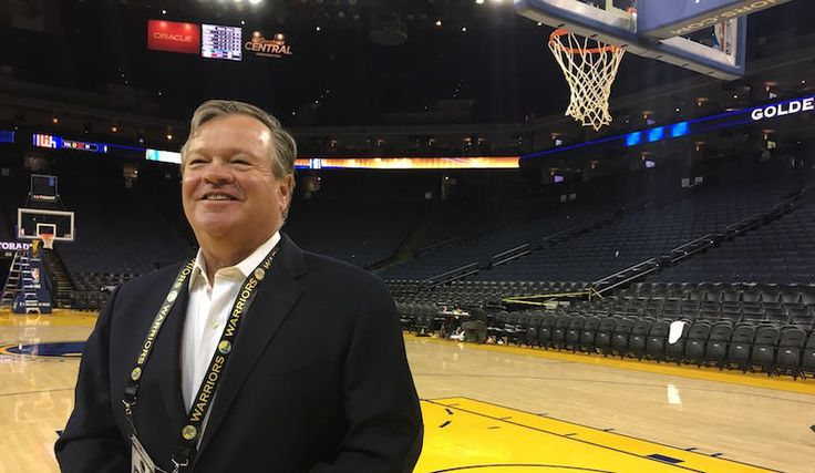 Meet the radio voice of the Golden State Warriors