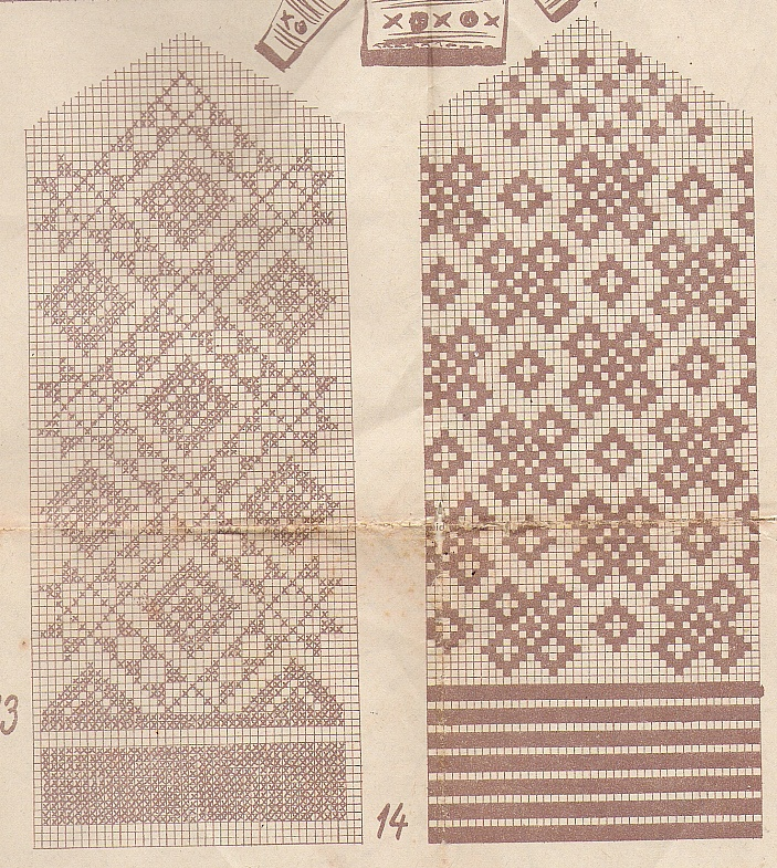 Estonian knitting patterns