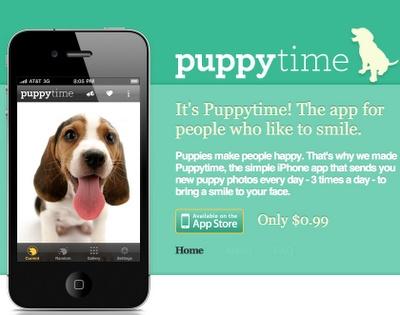 Puppy Time App