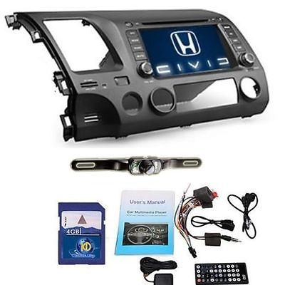 $285.00 US 7'' Honda Civic 2007 2008 2009 2010 2011 Car GPS Nav Stereo DVD Player+Camera