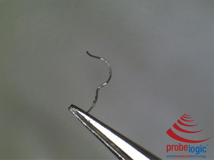 Frightening! – TEE probe with fine wire protruding