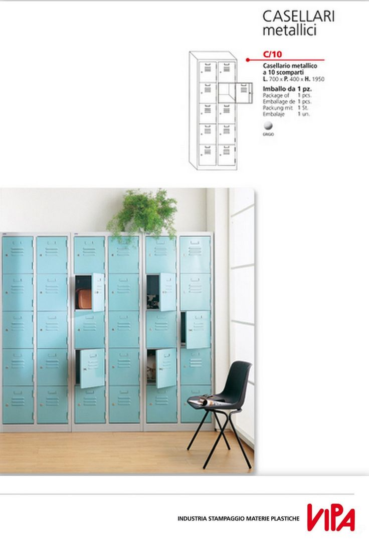 Strong and practical multipurpose filing cabinet with locking systems.