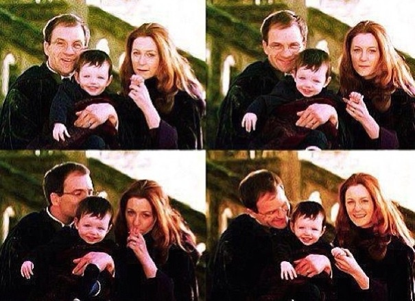 James , Lily and Harry Potter ❤