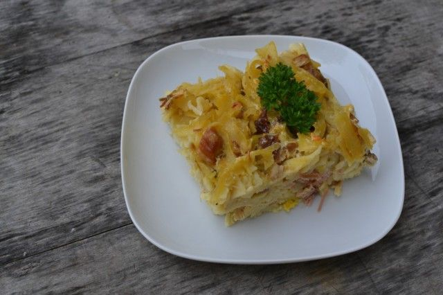 Klasické šunkofleky | Pasta With Eggs and Meat