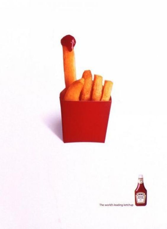 Creative Heinz Ketchup Ads – Check out these 20 great ones