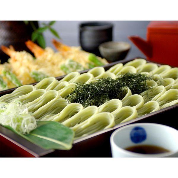 越後を代表する郷土料理「へぎそば」。【越の海藻挽きそば乾麺詰合せ(KS-G30)】