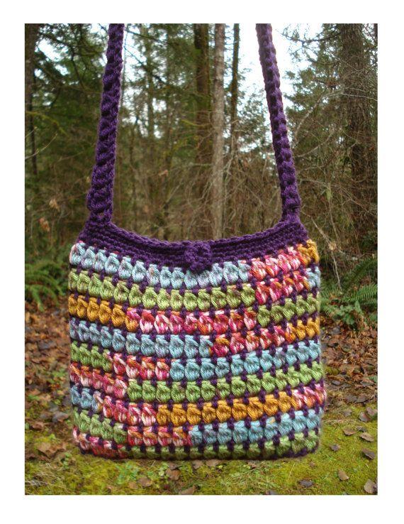 Capricious Clusters Bag Pa 209 Crochet Pattern Pdf Crochet