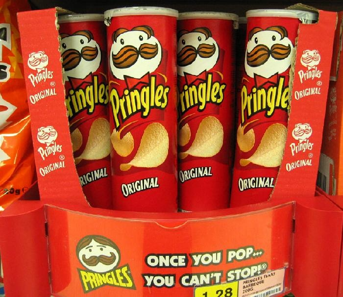 Earn 3 Daisy petals with one Pringles can.