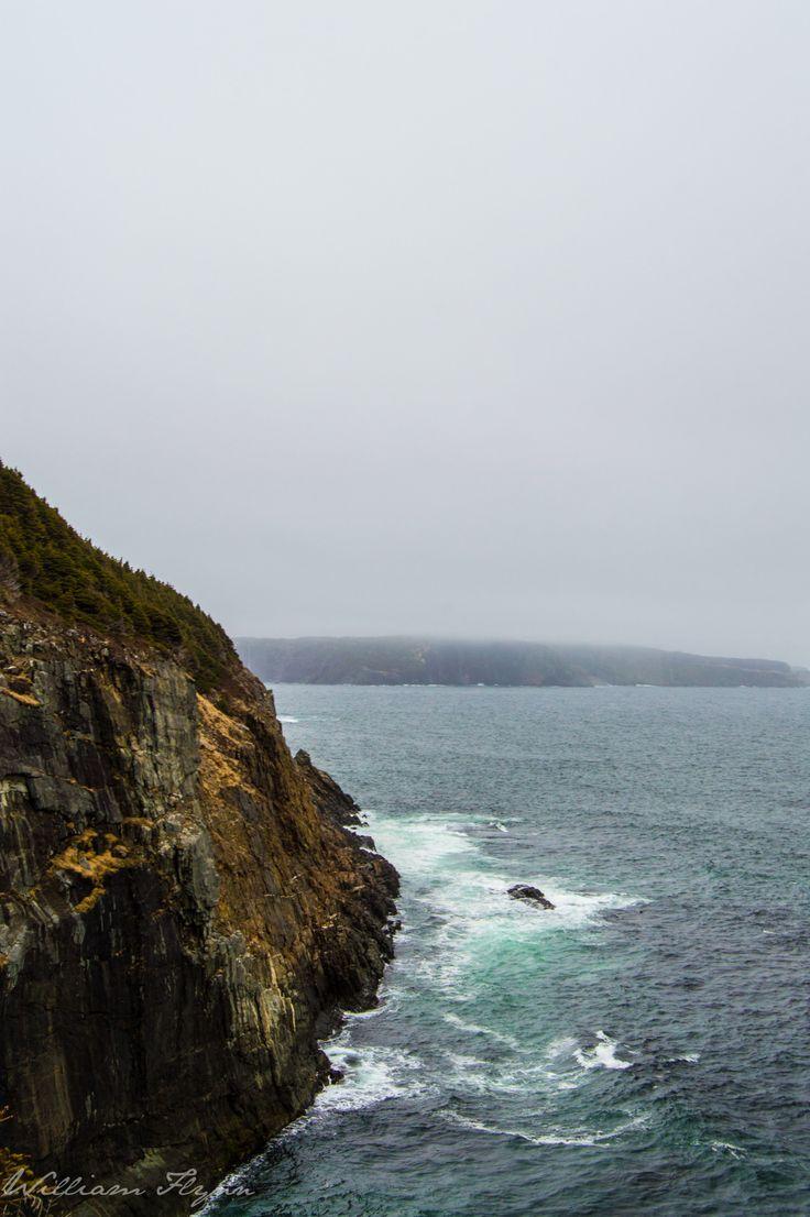 frozeninfire:  Jutting Out - Taken by MEMiddle Cove, NewfoundlandPlease do not remove this caption
