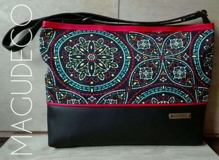 leather canvas bag @carterasmagudeco