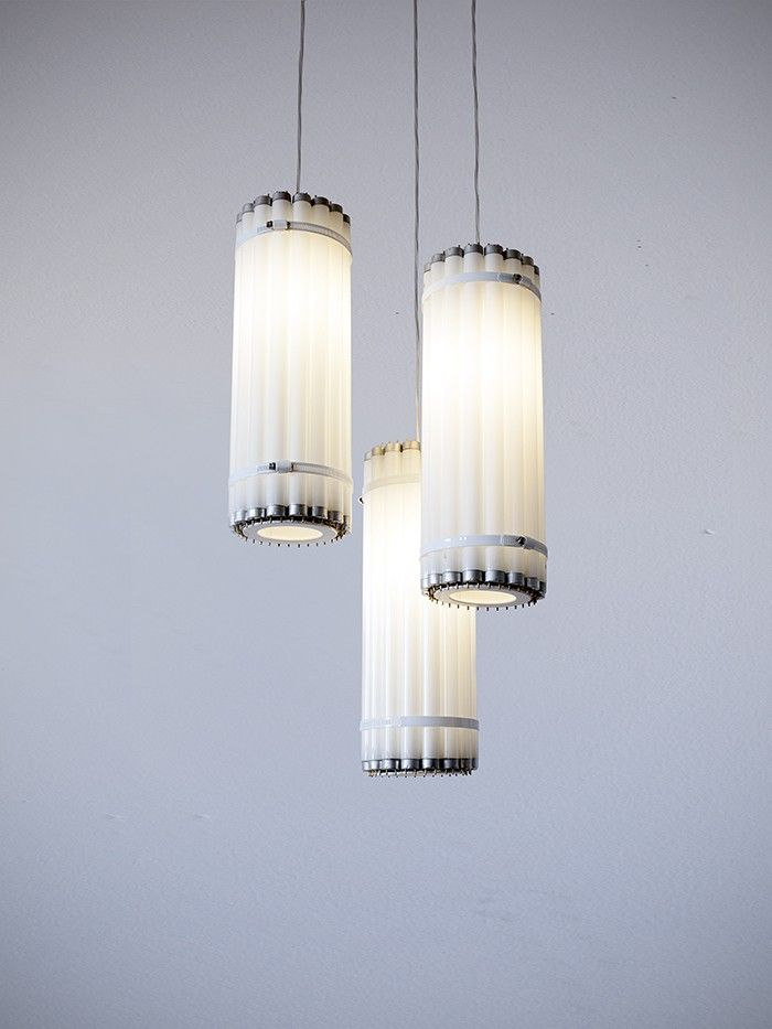 Castor Vertical Tube Light, Recycled Flourescent Bulbs | Remodelista