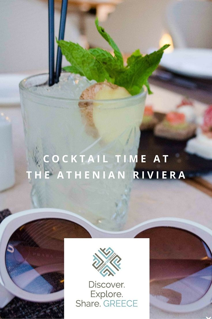 Enjoy the best cocktails and views of the Athenian Riviera