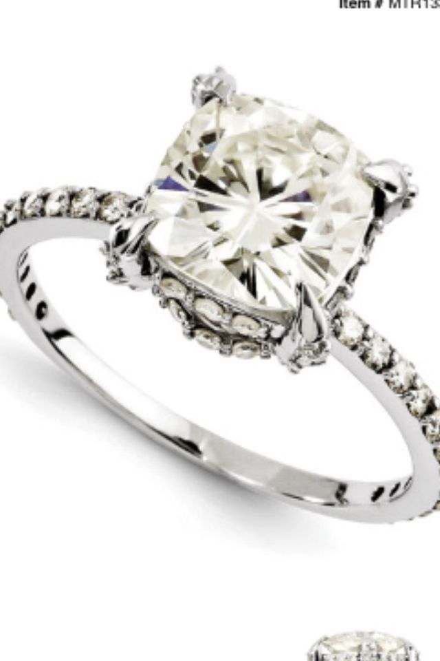 3ct engagement ring cushion cut jewelry