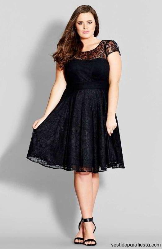 Vestidos cortos de encaje color negro para gorditas 2015 – 36 - https://vestidoparafiesta.com/vestidos-cortos-de-encaje-color-negro-para-gorditas-2015/vestidos-cortos-de-encaje-color-negro-para-gorditas-2015-36/