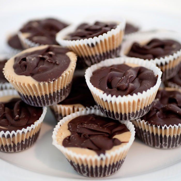 Ditch all those nasty ingredients you can't pronounce and make these better-for-you vegan almond butter cups from Alicia Silverstone's cookbook, The Kind Diet. - Shape.com