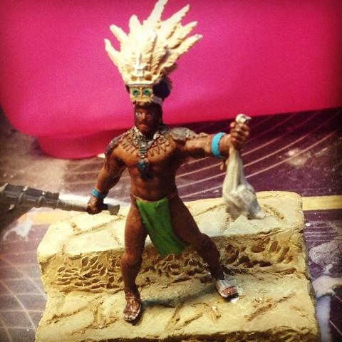 MondinMiniatura: Sacerdote maya, continua...