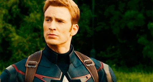 Eventually, young Steven grew up to be a muscular hunk of patriotism.* | Steve Rogers Is Getting A Statue In Brooklyn For His 75th Birthday