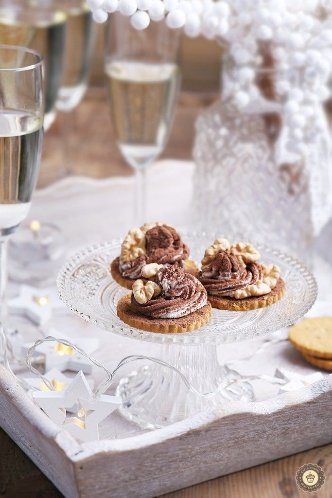 Shortbread cookies with mascarpone