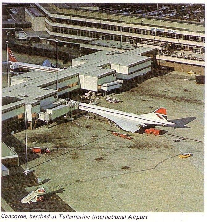 The Concorde visits Melbourne