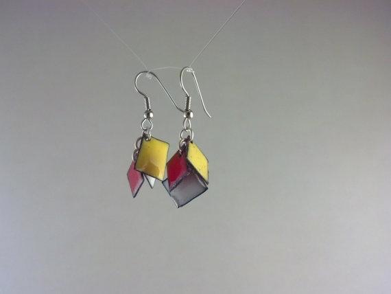 My new Cardinals earrings!!  @sam