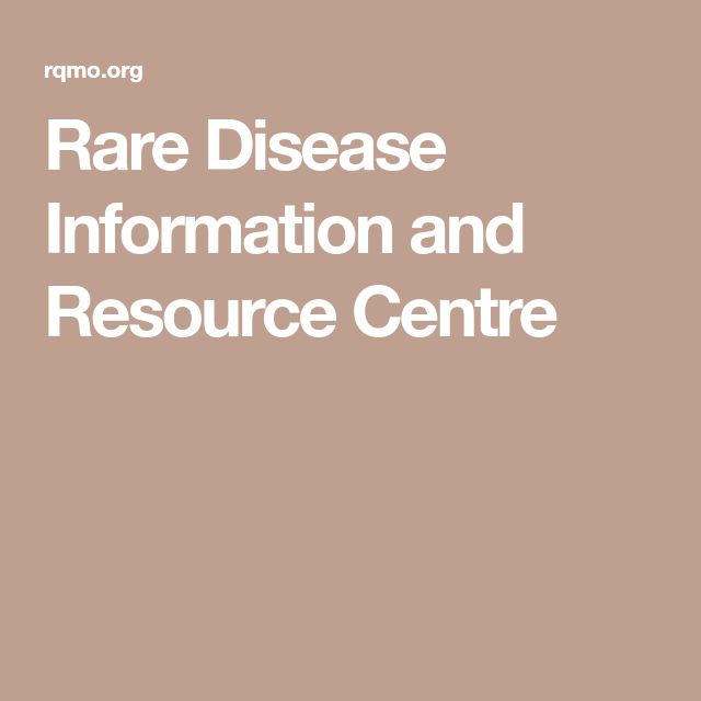 Rare Disease Information and Resource Centre
