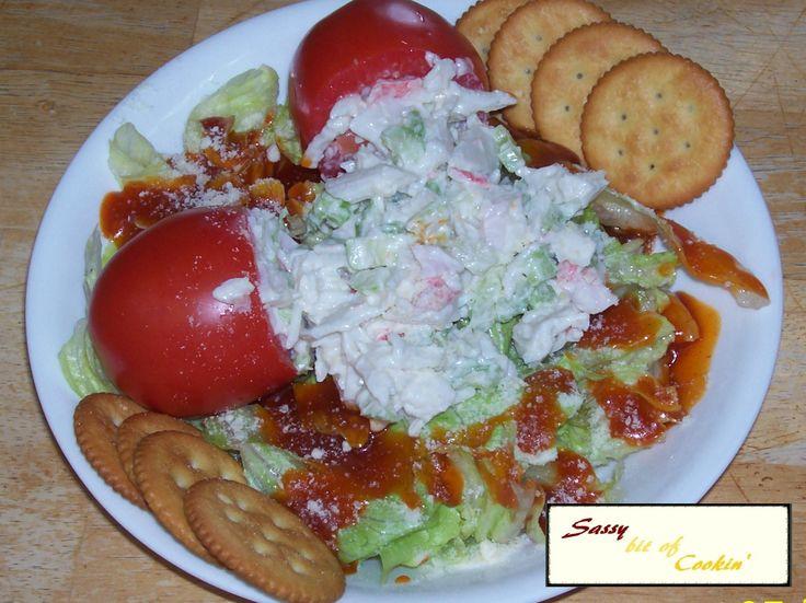 Easy Crab Salad on MyRecipeMagic.com
