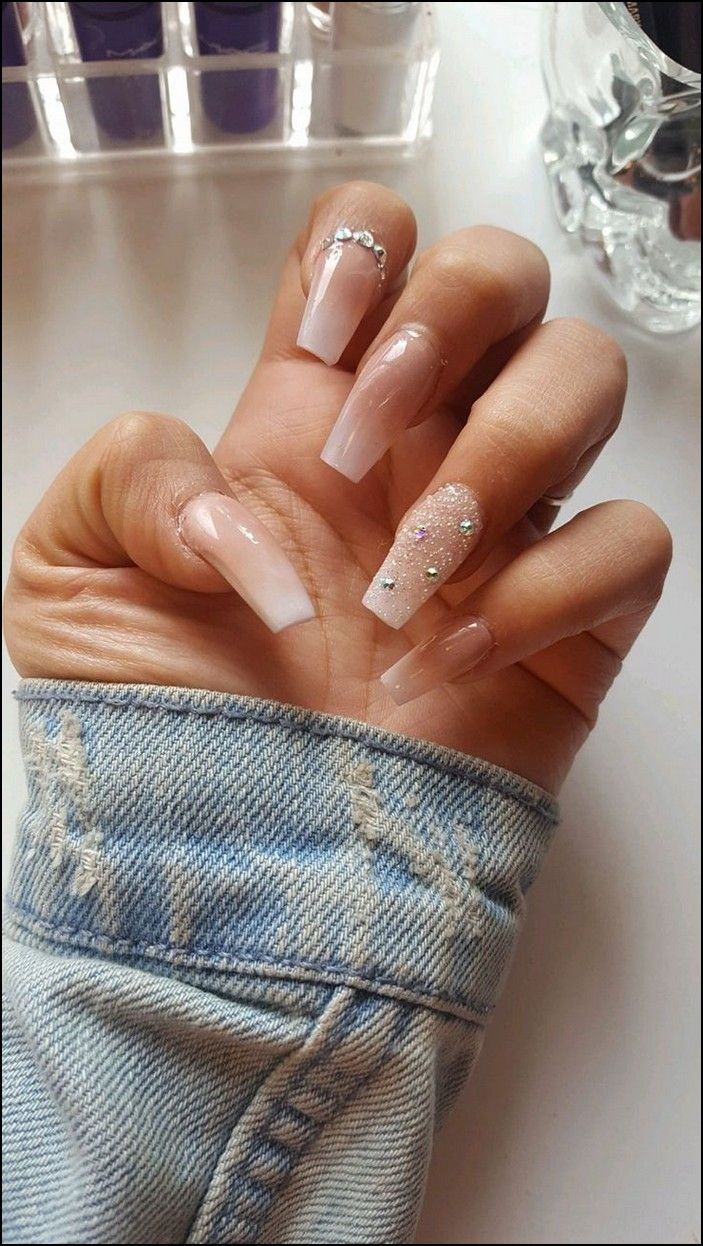 99 Best Coffin Nail Gel Nail Designs For Summer 2019 Page 19