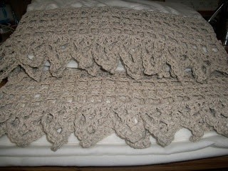 Crocheted Curtain Edging for Jackie
