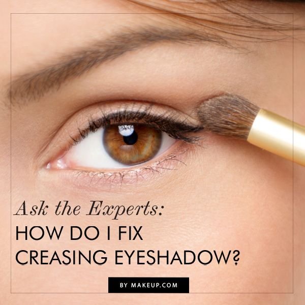 how to fix creased eye shadow {no one wants creases at #NYFW}