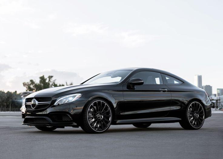 Mercedes Benz C Class Coupe With Stellar Black Diamond Lip