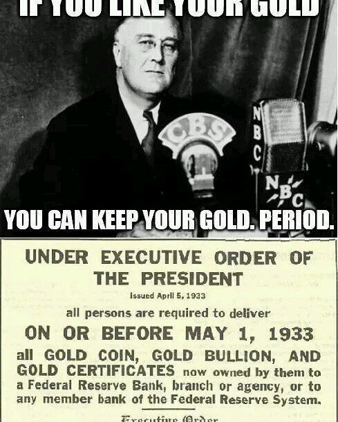 President FDR issuing an executive order.