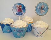 Frozen Themed Cupcake Wrappers