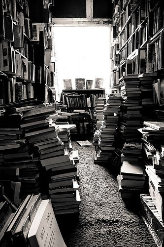 This will be my house when I'm old and grey. Reading off of a device isn't the same as holding a book in your hands.