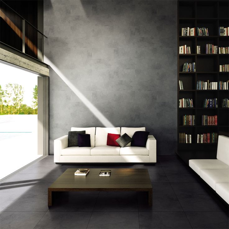 New Castello from Granito for an urban industrial living room concept!