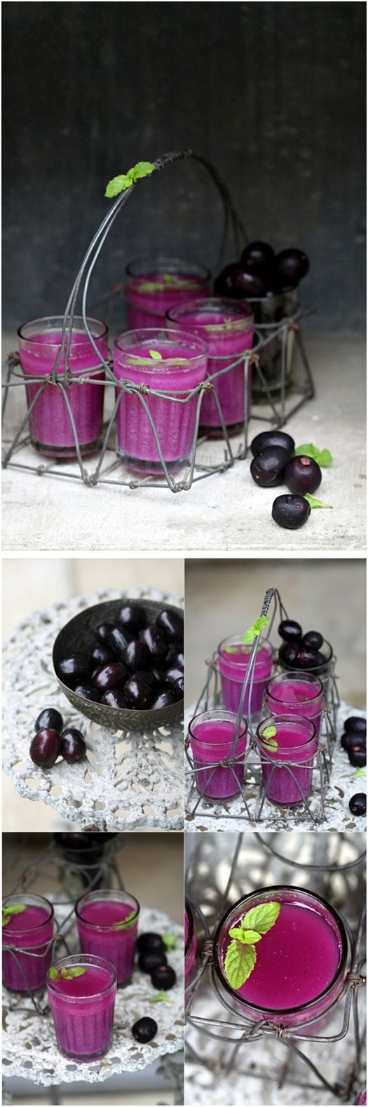#drinks: Plum Jamun, Plum Sherbet, Summer Drinks, Sherbet Thi Colors, Pretty Colors, Java Plum, Summer Weddings, Wild Plum, So Sweet
