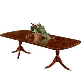 Furniture. Dining Room table Henkel HarrisRoom Furniture, Dining Room Tables, 2207 Double, Pedestal Dining, Henkel Harry, Double Pedestal, Dinning Room, Harry Double, Dining Tables