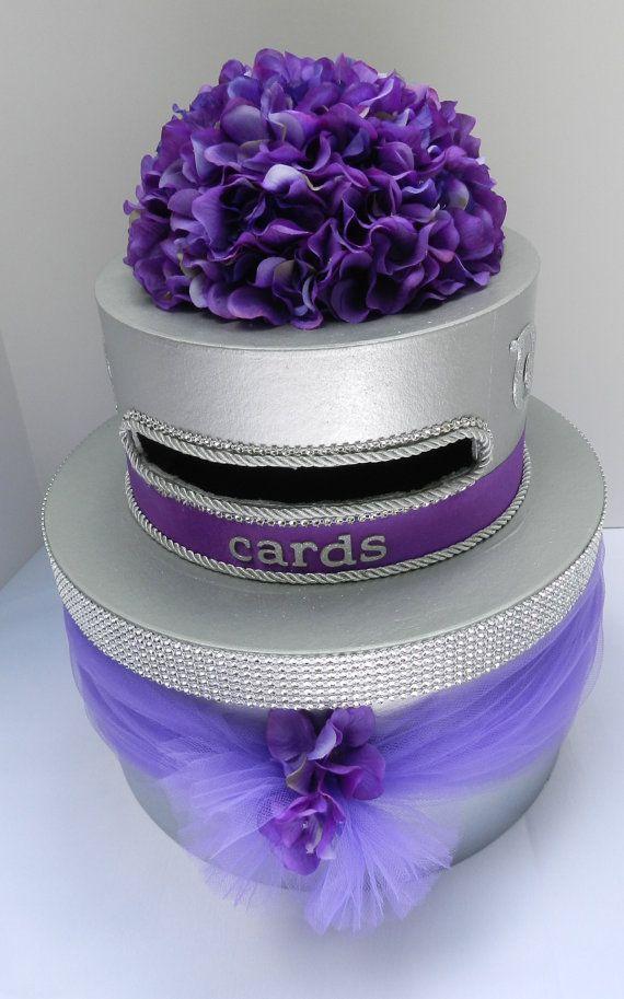 Wedding Card Box by SweetJonesin on Etsy, $89.00