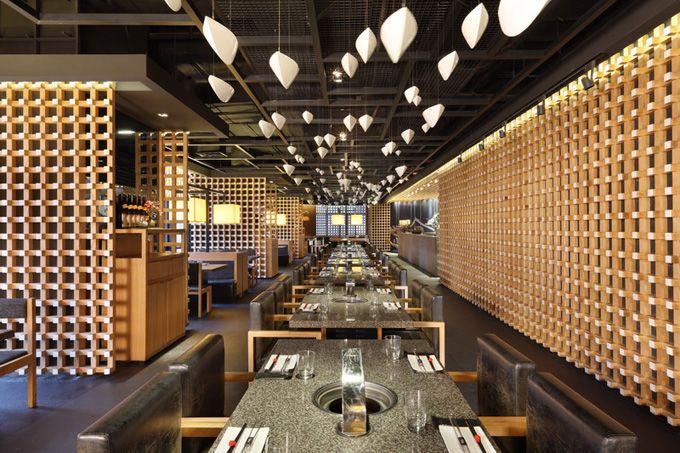 Yakiniku Master Japanese Barbecue Restaurant in Shanghai by Golucci International Design #Shanghai #DesignShanghai
