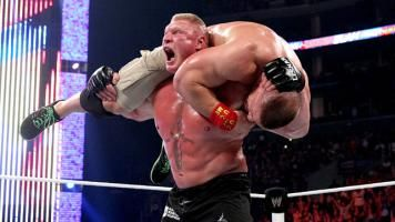 Brock Lesnar def. #WWE World Heavyweight Champion John Cena