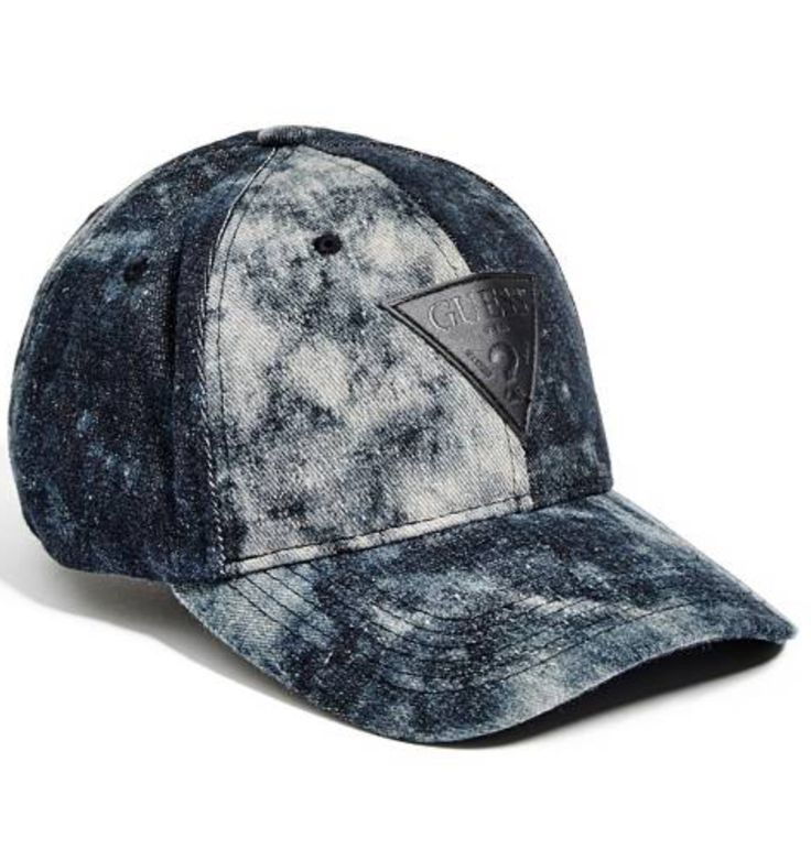 Guess Bleached Logo patch Cap