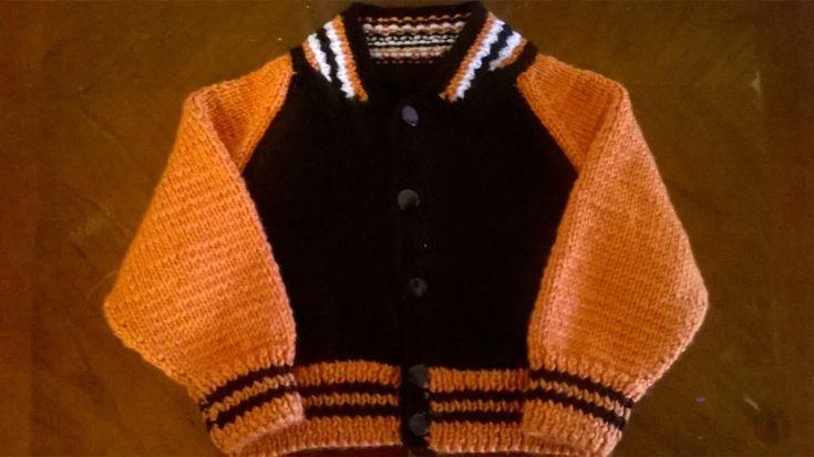 Cincinnati Bengals Knit Infant Sweater Jacket