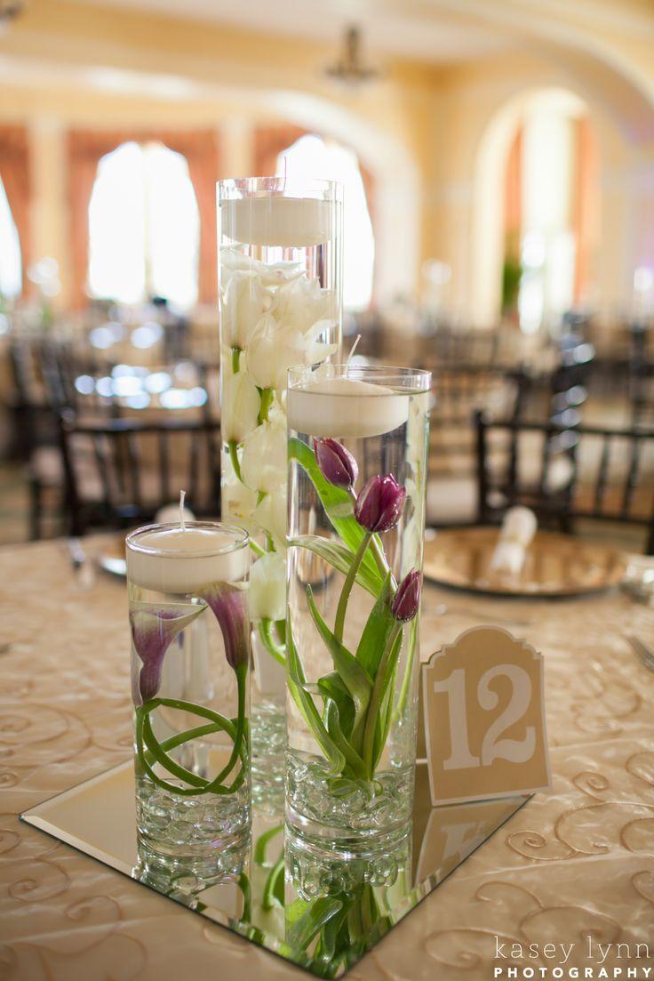 Best submerged flower centerpieces ideas on pinterest