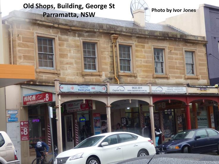 Old Shops, George St., Parramatta