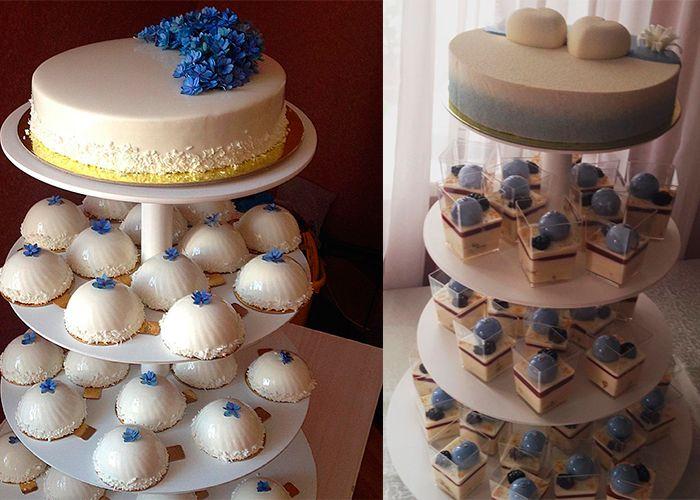 Трендовые торты для весенне-летней свадьбы 2016 года (фото)