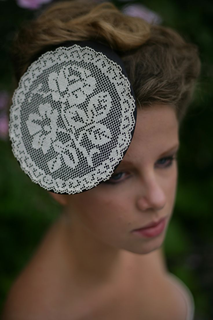 Vintage Lace Headdress http://www.theheadmistressboutique.com/ https://www.etsy.com/uk/shop/headmistressboutique?ref=si_shop