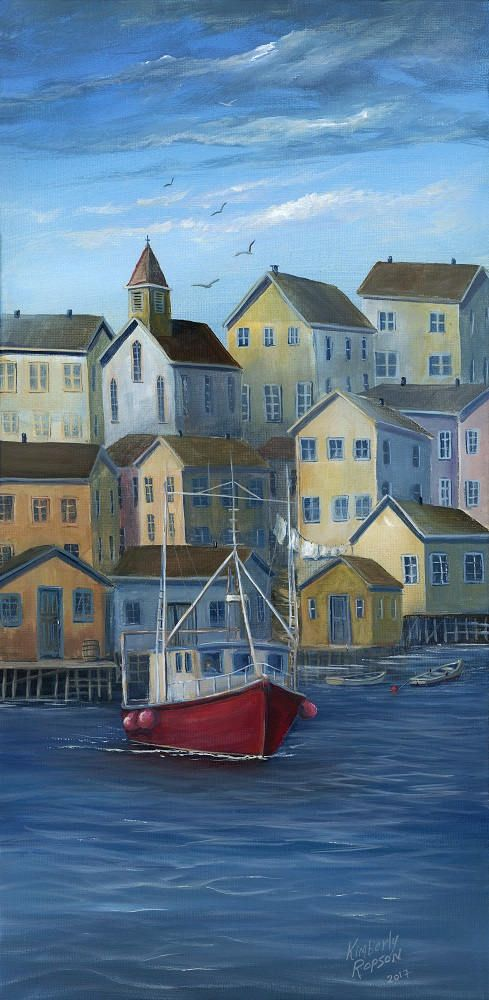 Limited Edition Giclee Print  Harbour Calm