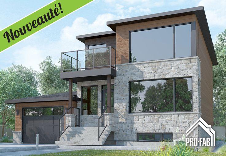 Pro fab constructeur de maisons modulaires usin es pr fabriqu es mod le merida les for Constructeur maison prefabriquee