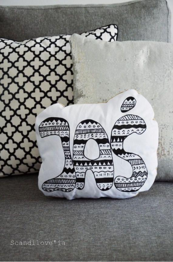 Poduszka dekoracyjna - IMIONA