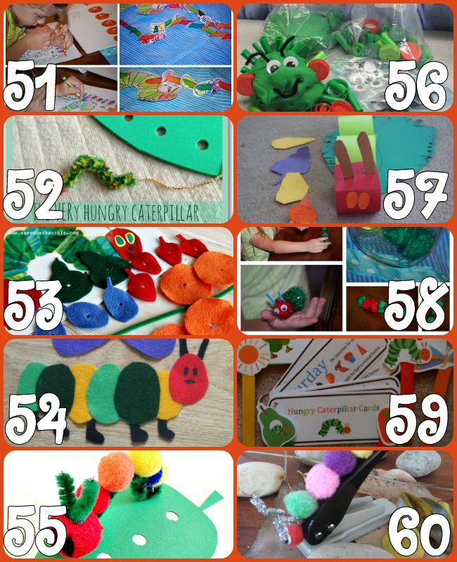60+ Play Ideas Based On The Very Hungry Caterpillar Book By Eric Carle {Click Image for More}60+ Play Ideas Based On The Very Hungry Caterpi...